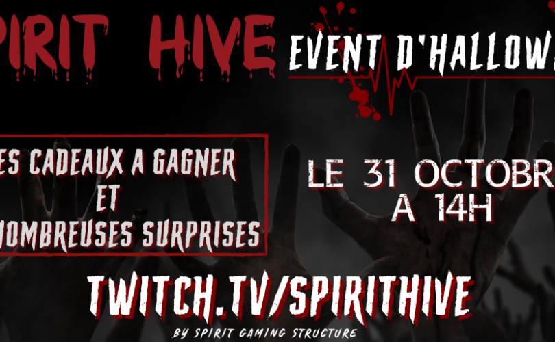 Event D'halloween – Spirit Hive
