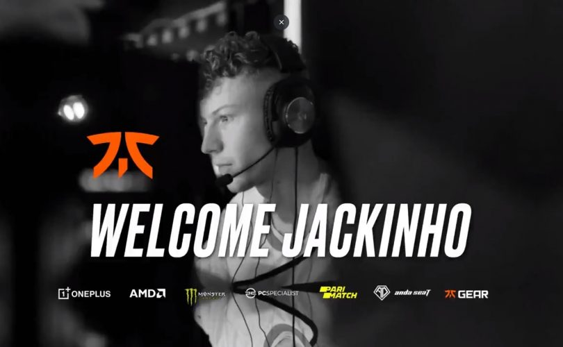 JackinhoCS rejoint la team FNATIC