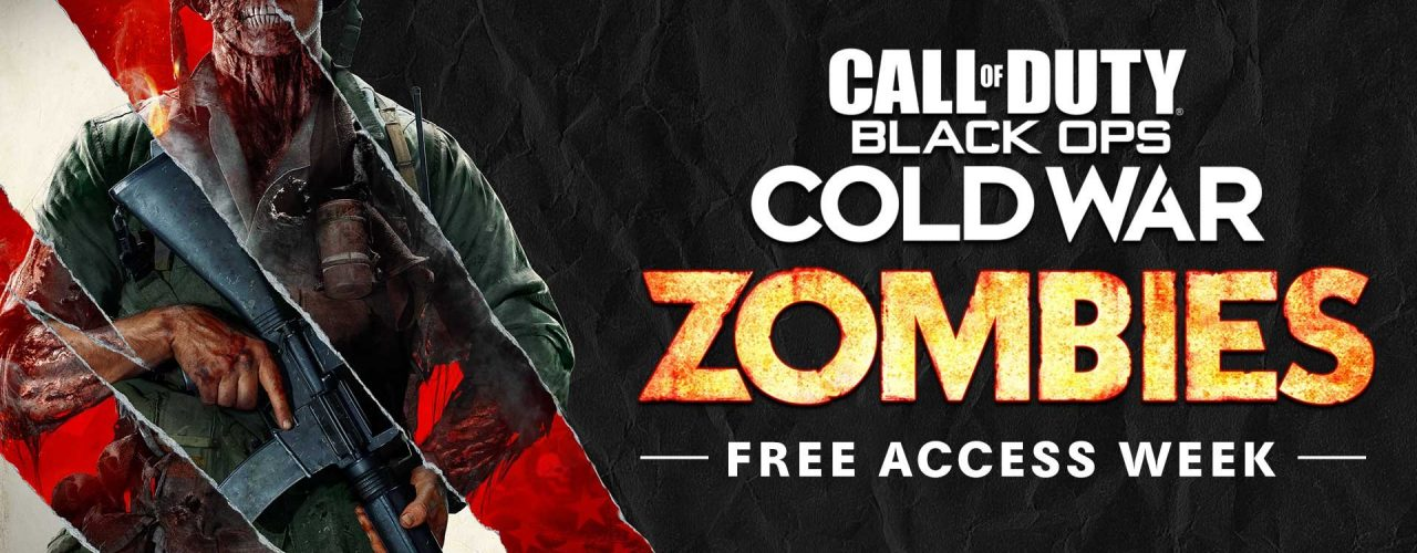Call of Duty Black Ops Cold War free zombie.