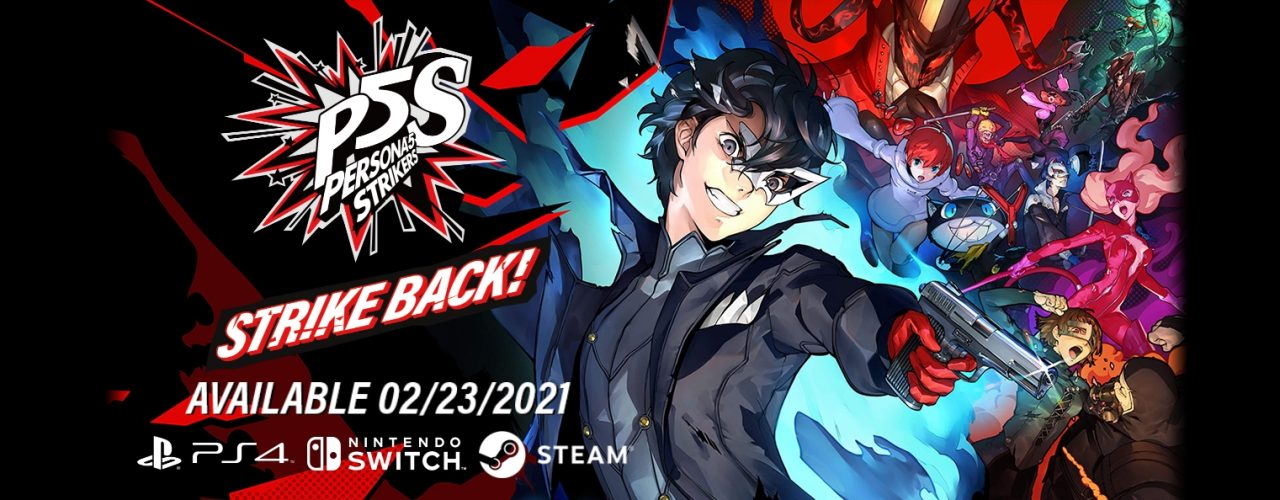 Nouveau trailer de Persona 5 Strikers